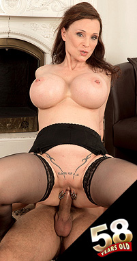 Michaela O'Brilliant The big-titted MILF with six pussy piercings