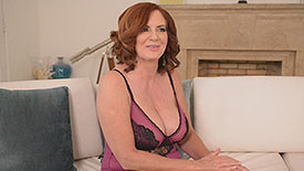 Andi  James - Interview MILF video screenshot #2