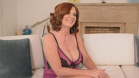 Andi  James - Interview MILF video screenshot #3