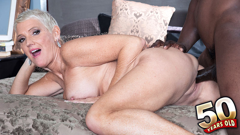 Milf red plows her pussy with valentines day toy 8