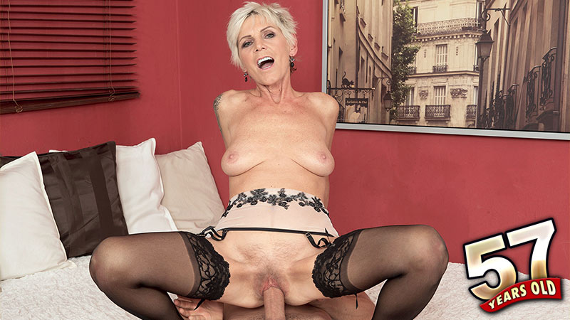 Hungry busty grannies and moms suck and fuck a single guy Part 10