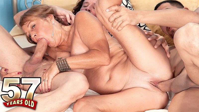 Blonde Milf Riding Anal