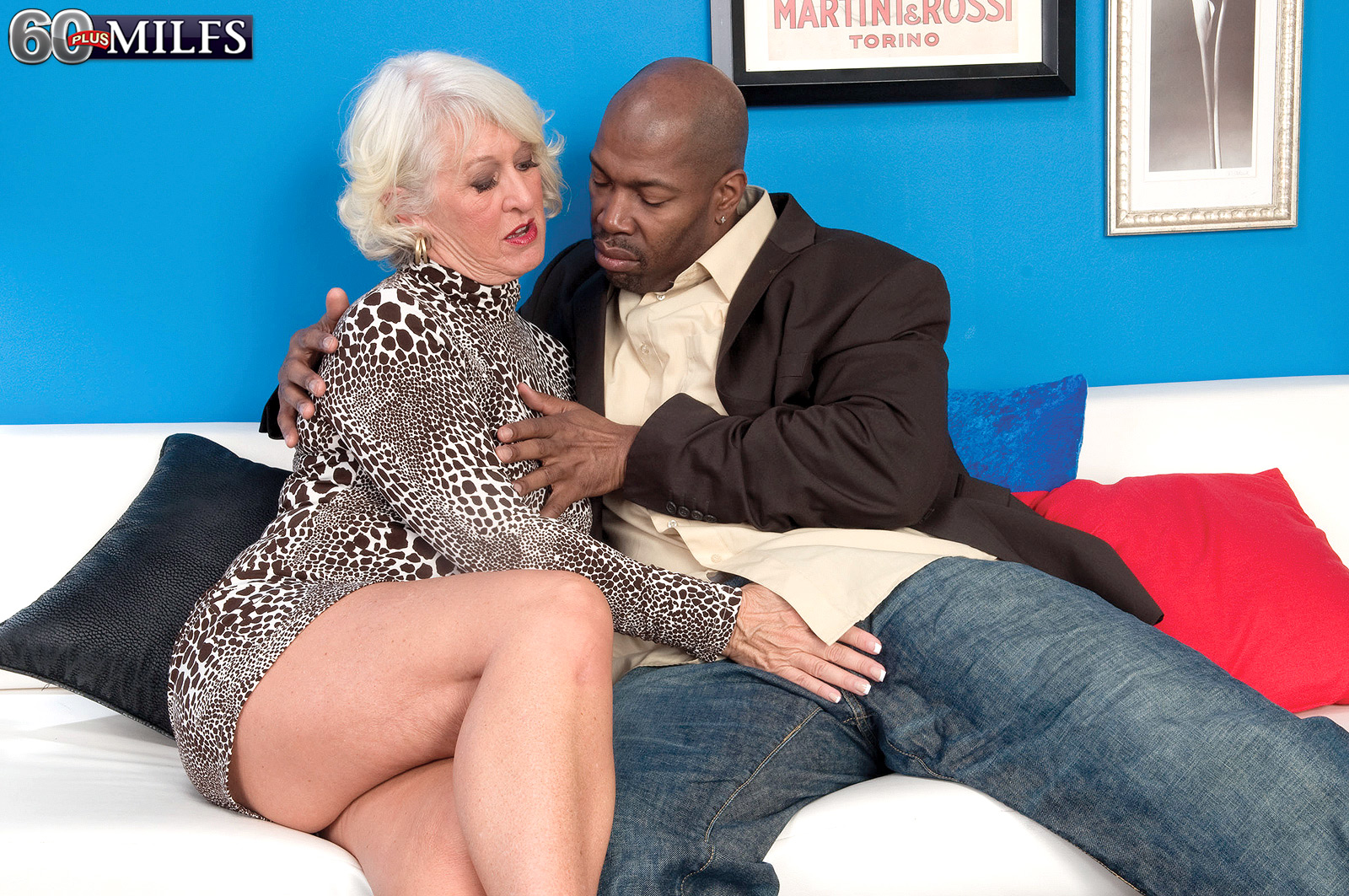 60 plus milfs - jeannie lou's big black cock creampie - jeannie lou