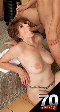 Bbw mom june taking on a bbc - 3 part 10
