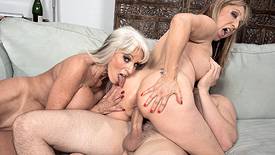 Sally D'Angelo - XXX Granny video screenshot 4