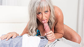 Silva Foxx - XXX Granny video screenshot 1