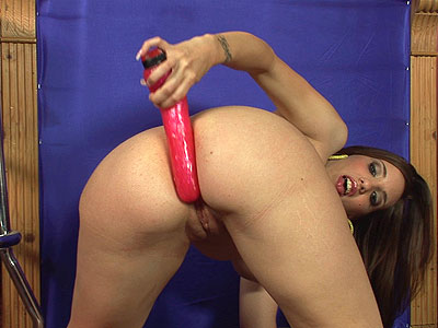 Kelly Divine toys her juicy holes from Booty Licious Mag