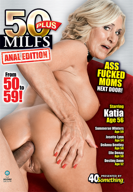 50 PLUS MILFS ANAL EDITION DVD cover image