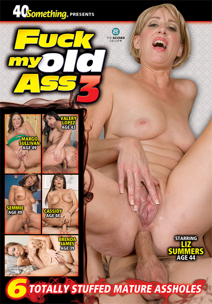 FUCK MY OLD ASS #3 DVD cover image