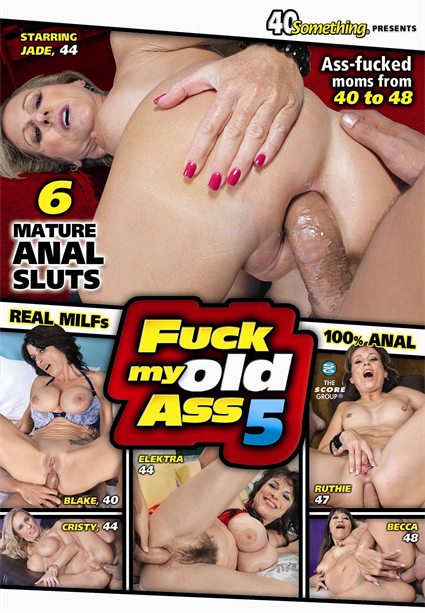 FUCK MY OLD ASS 5 DVD cover image