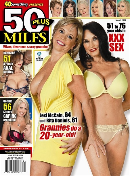 50 adult magazine plus woman