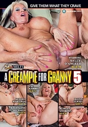 A CREAMPIE FOR GRANNY 5 DVD preview image #1