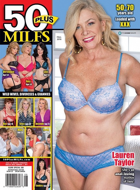 50PLUS MILFS FALL 2016 Magazine cover image