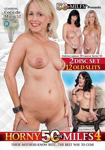 HORNY 50PLUS MILFS 4 (2-DISC) DVD cover image