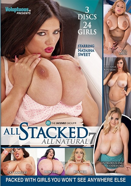 ALL STACKED, ALL NATURAL 7 (3 DISC)  cover image