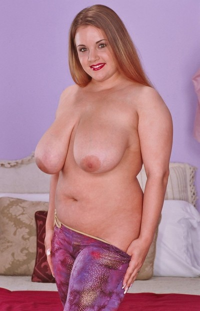 Natural busty pornstar