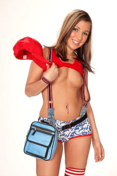Sasha Hall -  Teen model