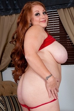 Passion Brooks -  BBW model