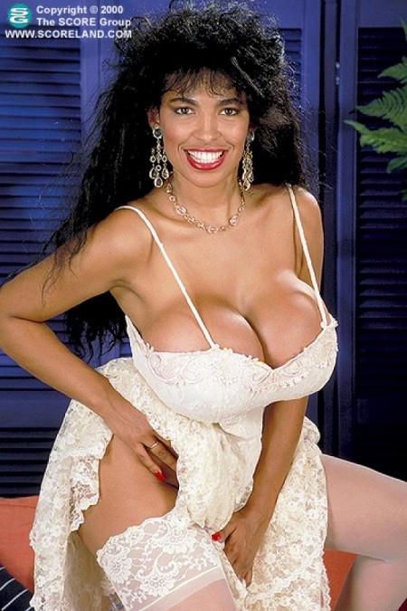Angelique big boob model