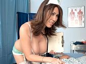 Kianna dior - nurse for squirts. Nurse For Squirts Nurses are so helpful. They know what it takes to cure an ailing patient: a pair of voluminous breasts and a tight, juicy pussy. At least that's the medicine nurse Kianna is prescribing. She really knows how to treat her patients with TLC. Once she's by your side your temperature won't be the only thing rising. We're willing to bet that your prick will get as rough as the thermometer she's sticking in your mouth. But you know what she really wants to stick in your mouth...her magnificent mams. And she wants you to stick your turgid penis in her mouth. But first she's going to turn your chubby into a full-blown erection with a tit-job that rivals the delight and tightness of any vagina. Are you still feeling sick Don't worry, nurse Kianna will use her soft mouth to cock sucking any bad feelings out through your cock and leave you feeling 100 percent. Now be kind and reward her with a hot beef injection. She deserves it for all her rough work. See More of Kianna Dior at BIGBOOBSPOV.COM!