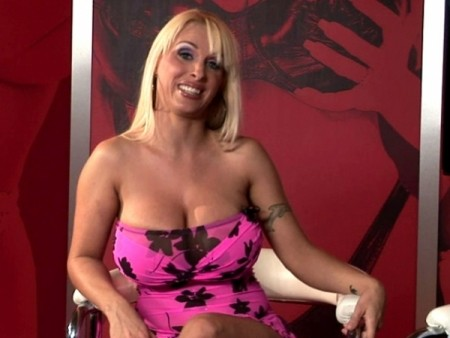 Holly Halston - Interview Big Tits video