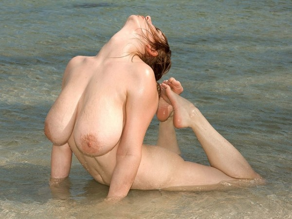 Christy Marks Sexytime in the Surf christymarks.com