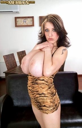 Merilyn Sakova Tiger bustymerilyn.com