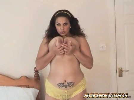 Mellie D - Solo BBW video