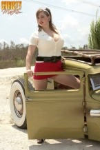 Christy marks - hot rod hottie. Hot Rod Hottie Because we love