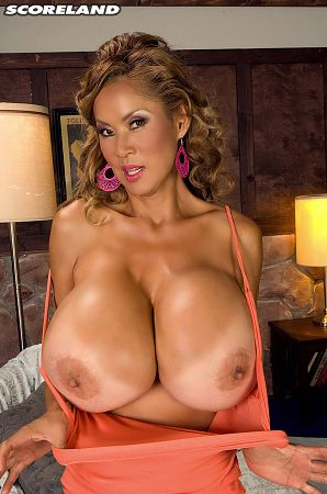 Minka Tight Tops Over Giant Tits