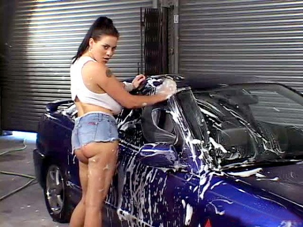 Linsey Dawn McKenzie Working At The Car Wash linseysworld.com