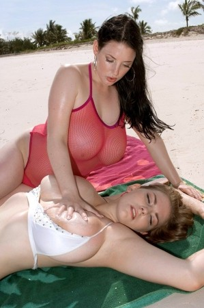 Angela White Busty Bosom Besties christymarks.com