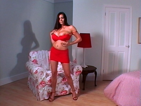 Linsey Dawn McKenzie The Red Bra linseysworld.com