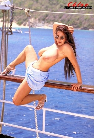 Chloe Vevrier Chloe on Boob Cruise 1997 chloesworld.com