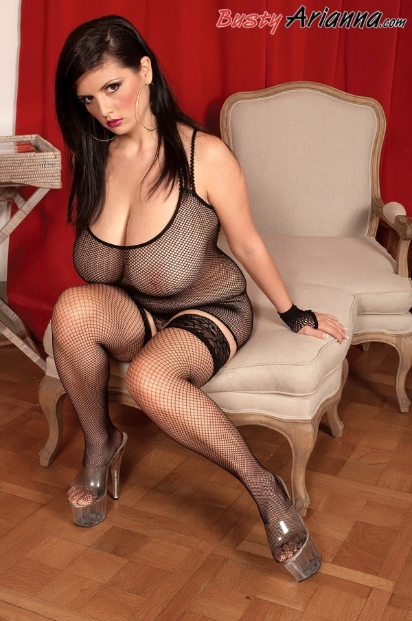 Arianna's Fishnet Seduction