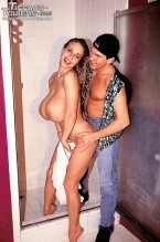 Tiffany towers - bathroom pounding. Bathroom Pounding Sometimes you just have to fuck, and in Tiffany Tower's case, that means you have to call a man into the bathroom while you are showering and tell him to pound your cute, cute pussy. And that is exactly what she does. The whole thing is made hotter and hornier by the fact that she has that wet, straight out of the shower hair and smeared makeup. Tiffany looks hot as fuck down on her knees, blowjob his penish like she means it, too. See More of Tiffany Towers at TIFFANY-TOWERS.COM!