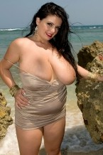 Arianna sinn - take a dip with-and-in!-arianna. Take a dip with-and-in!-Arianna The seas in the Dominican Republic are rough, but when we have our eyes on Arianna, it's smooth sailing all the way! Arianna is seaside in these photos as she takes her breasts for a dip, then spreads wide to give us a look at her wet, charming private parts.I love modeling in pleasant places like this, she said. It makes me feel so much sexier.Arianna always looks sexy, especially when she's totally naked from top to ass and taking in the warm surf. The look on her face says that she's charming us in for a dip. But the question is, just what does she want us to dip We have a few ideas!See More of Arianna Sinn at BUSTYARIANNA.COM!
