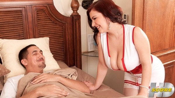 Lana Ivans The Cream-Filled Busty Nurse scorehd.com