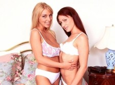 Autumn-jade - autumn and kate. Autumn And Kate Autumn-Jade has gotten several requests to see her with an 18eighteen model with petite tits. This type of match-up (huge tits-little tits) is not a new idea and definitely has its appeal to a guy. Just the sheer contrast in chest sizes hits a few buttons. Autumn liked how Kate looks and Kate was game. Together in the SCORE Studio, they get really horny, soaking the bed with cunt juices and Wett lube during their double-dildo scissor-fuck. This is a first for Autumn. Her previous Lezzie encounters were with very busty babes like herself. On with the show. See More of Autumn-Jade at AUTUMN-JADE.COM!