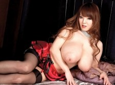 The biggest japanese breasts. The voluminousgest Japanese boobs After posting one photo of Hitomi wearing a SCORE tank-top and a mini-skirt on the SCORELAND Blog to announce her first pictorial and video, the post drew 19 comments and inside SCORELAND, Hitomi became #1 in the Top 20 model list before her pictorial even posted. It's the easiest prediction ever to say that Hitomi will be a hugely popular girl here and guaranteed to be a winner with SCORE Men. She's a luscious J-Cup destroyer with a slim 'n' stacked bod and a charming dollish face. Off-camera, Hitomi is like any modern young girl from most countries. She has her smartphone and iPod, her little dogs and her closet packed with excited clothes and she loves going to her favorite salon. In this video, Hitomi kicks off the proceedings decked out in a red bra and panty set with garters, black stockings and red pumps. Enjoy! Welcome to The voluminous Show, Hitomi.See More of Hitomi at BIGTITHITOMI.COM!
