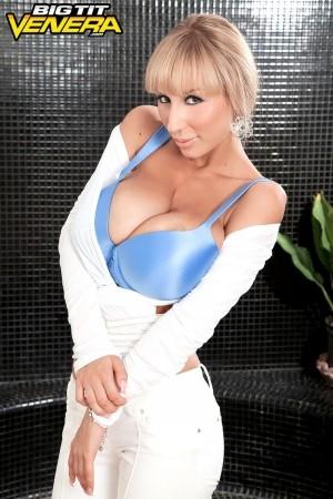 The wet tee & breasts show. The Wet Tee & boobs Show Venera gets