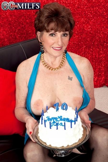 Birthday Surprise 60 plus milfs - <b>xxx</b> milf model - bea cummins (6070)