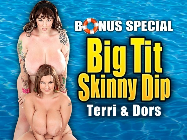 Dors Feline Big Tit Skinny Dip: Terri Jane & Dors Feline