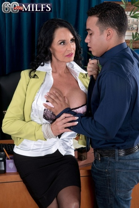 Rita Daniels The ass-fucked boss is named Rita Daniels