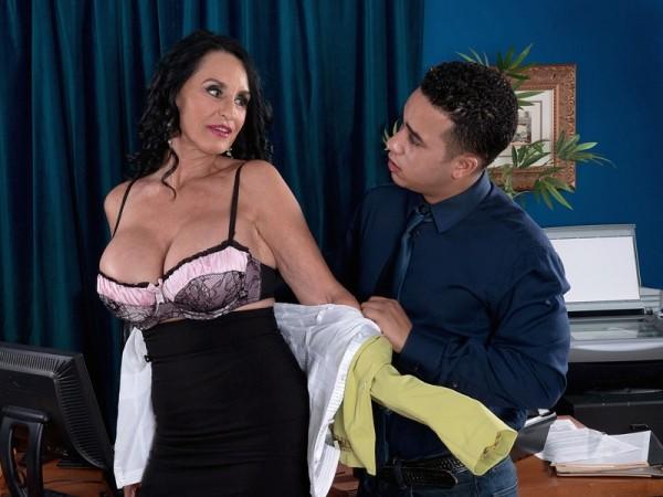 Rita Daniels Rita's 15th 60PlusMILFs.com cock fucks her ass