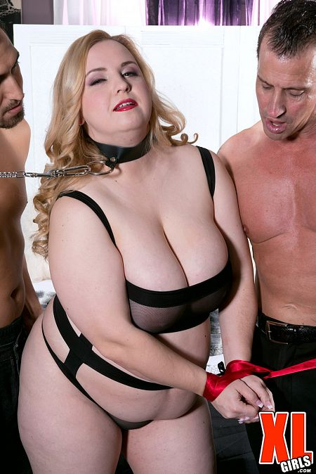 Nikky Wilder A Busty Anal Slave For Two Men