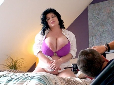 Natalie Fiore - Behind The Scenes BBW video