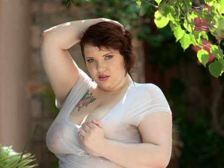 Kitty McPherson - Solo BBW video