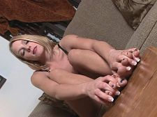 Foot fanatic. Foot Fanatic Ever wanted to meet a girl into feet as much as you are Well, wait no more. Sydney Silver loves feet. Hers in particular. She rubs them, massages them and lotions them, all while she fingers herself. She is so into her size 8s that just running her hands over her soles excites her. She moans as she slips her fingers through her toes and groans as she jacks her foot as if it were a voluminous cock. This little lady appreciates peds as much as you do. So what are you waiting for Drop your pants and show Sydney you love her feet, too.See More of Sydney Silver at LEGSEX.COM!