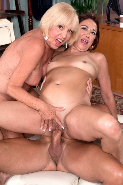 Two Milf One Cock